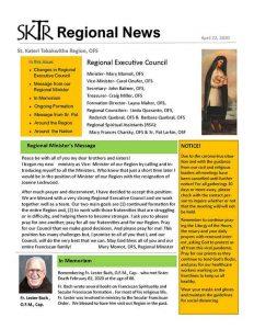 Cover of SKTR Regional newsletter