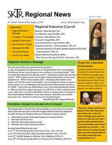 Cover - SKTR Regional News, May 2020